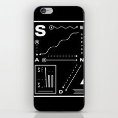Sea And Sand iPhone & iPod Skin