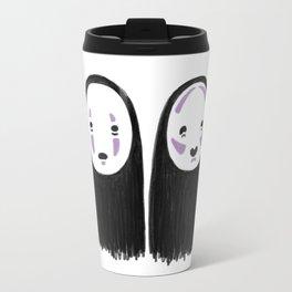 No-face Contour Travel Mug