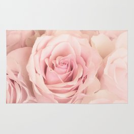 A rose is a rose - Wonderful pink Rose flower Rug