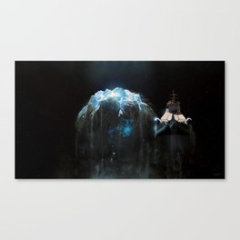 Long-haired silver star Canvas Print