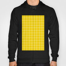 Grid (White/Gold) Hoody