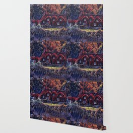 ol' english cottage Wallpaper
