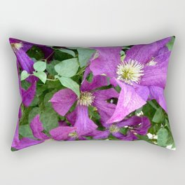 Clematis Rectangular Pillow