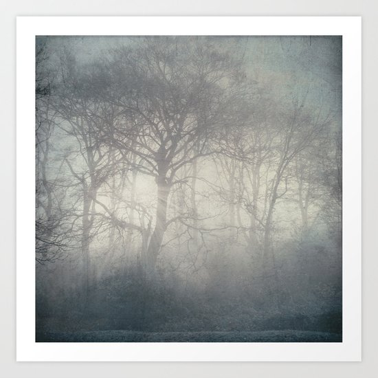 ghosts of November Art Print