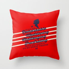 Kate Beckett (Castle) Throw Pillow
