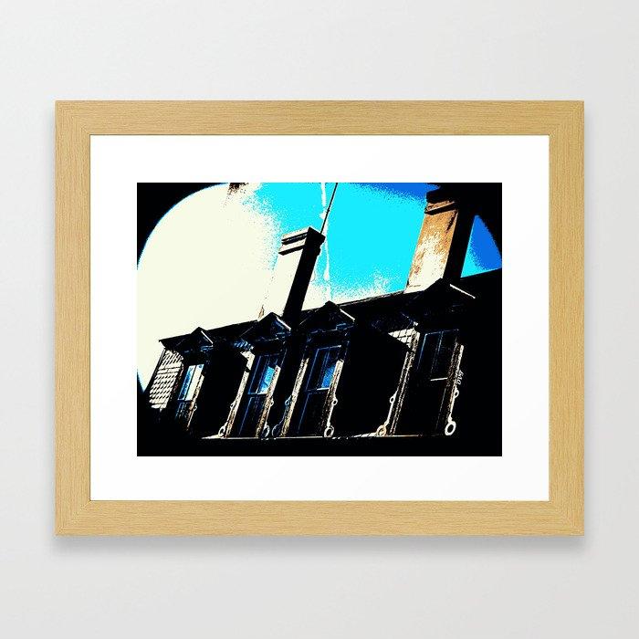 Chimneys 2228 Framed Art Print