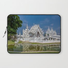 White Temple Thailand Laptop Sleeve