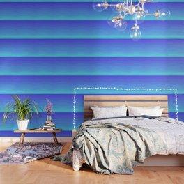 Cobalt Light Blue gradient Wallpaper