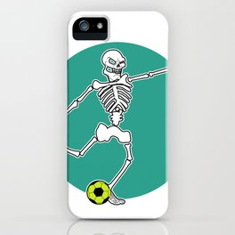 Calavera Soccer iPhone Case