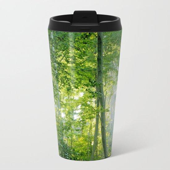 MM - Sunny forest Metal Travel Mug