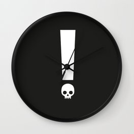 Always Proceed With Caution! Wall Clock