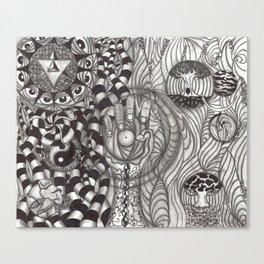 Transmutate Canvas Print