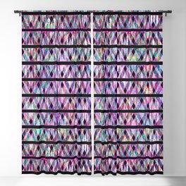 Geometric Glossy Pattern G330 Blackout Curtain
