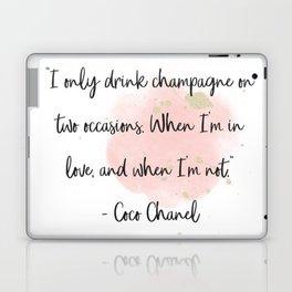 Champagne love II Laptop & iPad Skin