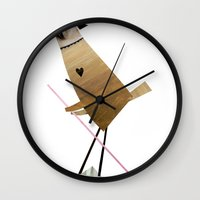 madonna Wall Clocks featuring Madonna by s.bimbo