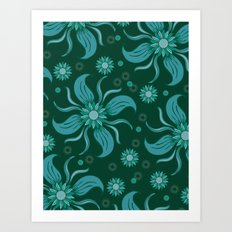 Floral Obscura Art Print