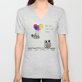 To be a Flying Penguin Unisex V-Neck