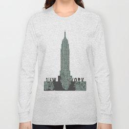 Empire State NY Long Sleeve T-shirt