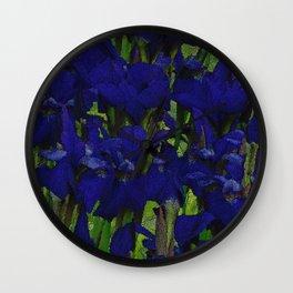 Tatum's Iris II Wall Clock