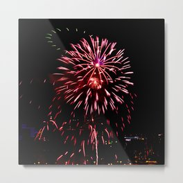 Firework collection 6 Metal Print