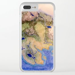 The Island of the World Clear iPhone Case