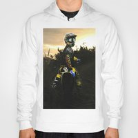 moto Hoodies featuring Moto Sunset by Konrad Hempel Photography