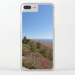 Autumn in the Mountains, Horizontal Clear iPhone Case