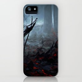 Ris Megroth iPhone Case