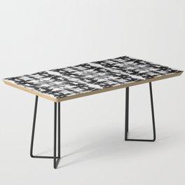 Tie-Dye Blacks & Whites Coffee Table