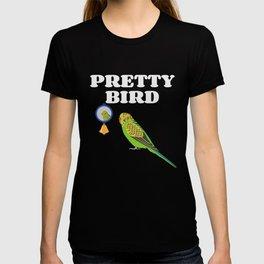 Pretty Bird Budgie Parakeets T-shirt