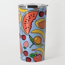 Bold Fruit Travel Mug