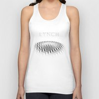 david lynch Tank Tops featuring Lynch by Spyck