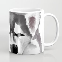 Sleepy Husky Coffee Mug