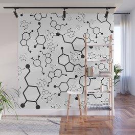 Serotonin and Dopamine Wall Mural