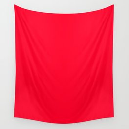 Ruddy - solid color Wall Tapestry