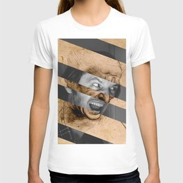 Leonardo da Vinci's Head for The Battle of Anghiari & Jack Nicholson Canvas T-shirt