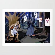 Jason Kidd cheating basketball death Art Print