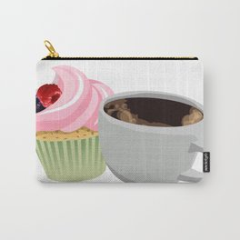 cupcakes and coffee Carry-All Pouch