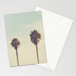 palm trees. Daydreamer No.2 Stationery Cards