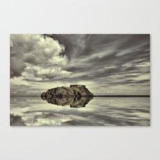 Reflections of Tenby Canvas Print