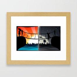 Shattered Dimensions Framed Art Print