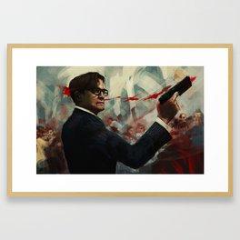 Forgive me Father for I have Sinned  / Kingsman Framed Art Print