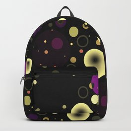 Circles with black Backpack