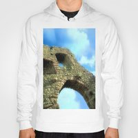 castle in the sky Hoodies featuring Castle by Brian Raggatt