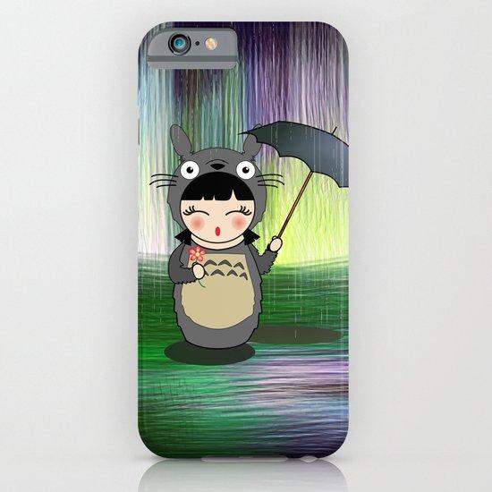 Kokeshi anime Toto ro iPhone & iPod Case