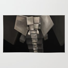 Elephant² Rug