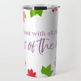 Colors of the Wind Travel Mug