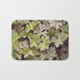 Leafy Abstract Bath Mat