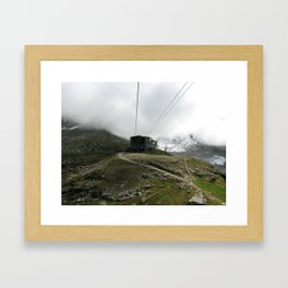 from the clouds Framed Art Print