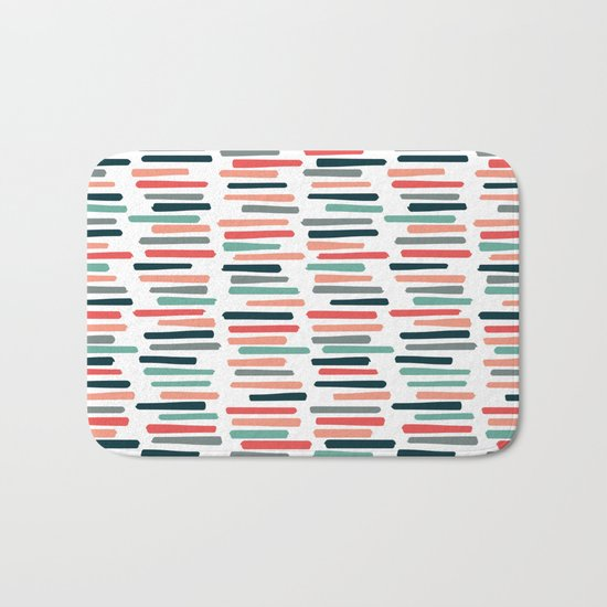 Autumn Books Bath Mat